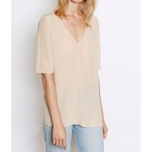 New with Tags Equipment Nude Otis Silk Top